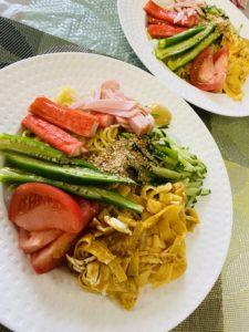 昼食✧冷やし中華