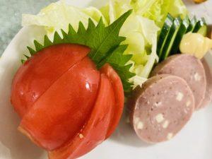 野菜&チーズ入りバジル風味ハム