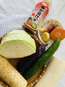 何でもある野菜で♪