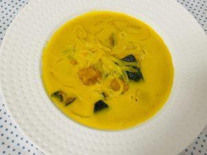 ごろごろかぼちゃスープ