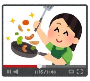 はりきってお料理♪